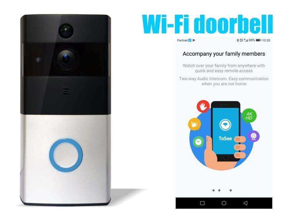 אינטרקום אלחוטי wifi