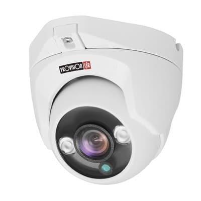 מצלמות אבטחה provision בצורת כיפה